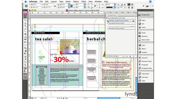 Creating assignments in InDesign: InCopy CS3 + InDesign CS3 Integration