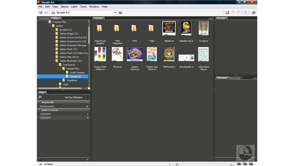 Browsing Illustrator artwork: Illustrator CS3 One-on-One: The Essentials