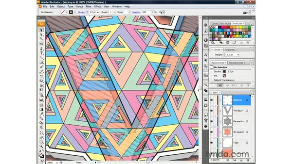 Zooming and scrolling: Illustrator CS3 One-on-One: The Essentials