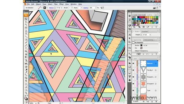 Using the Zoom tool: Illustrator CS3 One-on-One: The Essentials