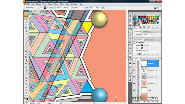 Nudging the screen image: Illustrator CS3 One-on-One: The Essentials