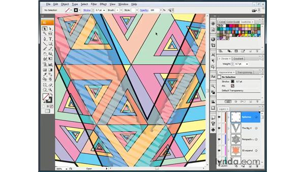 Cycling between screen modes: Illustrator CS3 One-on-One: The Essentials