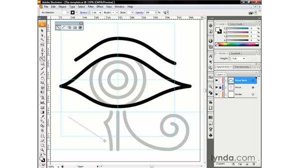 Drawing a line segment: Illustrator CS3 One-on-One: The Essentials