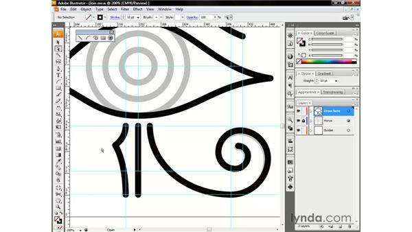 Aligning and joining points: Illustrator CS3 One-on-One: The Essentials