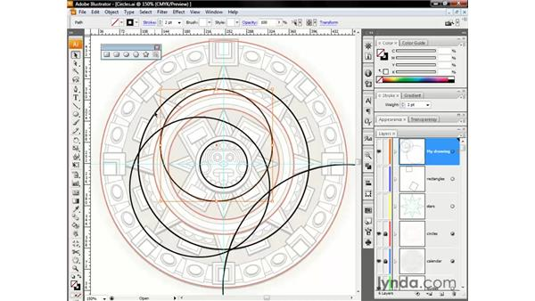 Snapping and aligning shapes: Illustrator CS3 One-on-One: The Essentials