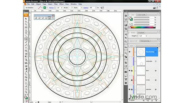 Polygons and stars: Illustrator CS3 One-on-One: The Essentials