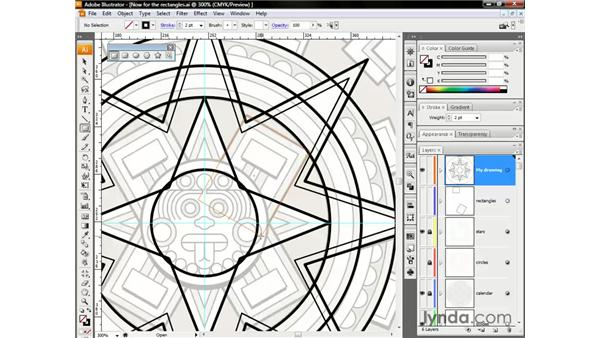 The amazing constraint axes: Illustrator CS3 One-on-One: The Essentials