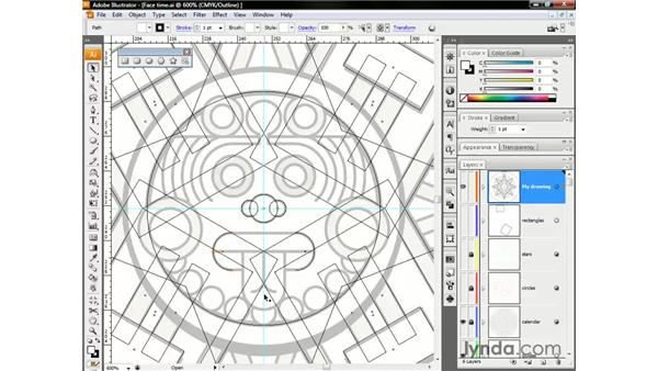 Drawing with Scissors and Join: Illustrator CS3 One-on-One: The Essentials