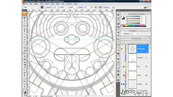 Cutting and connecting in Illustrator CS3: Illustrator CS3 One-on-One: The Essentials