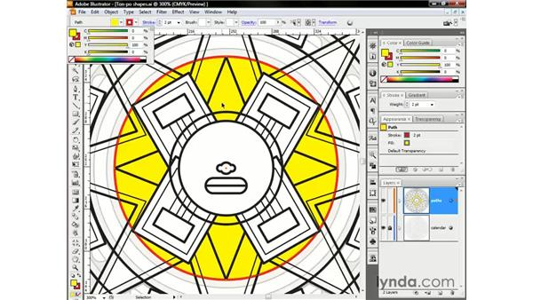 Using the CMYK sliders for print output: Illustrator CS3 One-on-One: The Essentials
