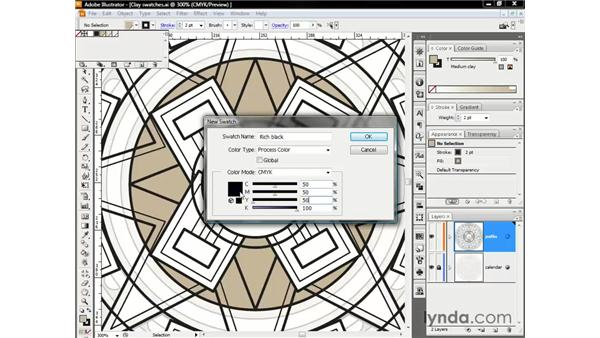 Trapping gaps with rich blacks: Illustrator CS3 One-on-One: The Essentials