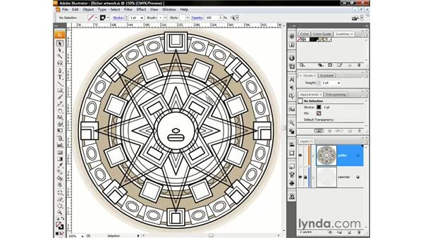 Dragging and dropping swatches: Illustrator CS3 One-on-One: The Essentials