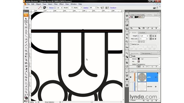 Fixing strokes and isolating your edits: Illustrator CS3 One-on-One: The Essentials