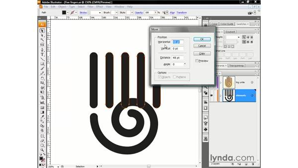 Moving by the numbers: Illustrator CS3 One-on-One: The Essentials