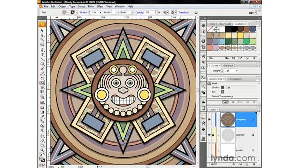 Scaling and cloning shapes: Illustrator CS3 One-on-One: The Essentials
