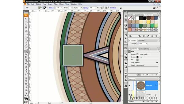 Positioning the origin point: Illustrator CS3 One-on-One: The Essentials