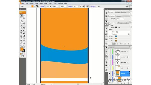 Exploring the Appearance palette: Illustrator CS3 One-on-One: The Essentials