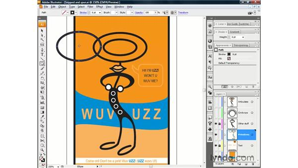 Adding a center point: Illustrator CS3 One-on-One: The Essentials