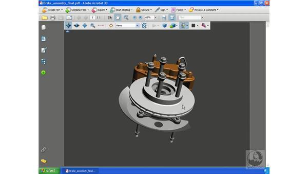 A quick look at 3D content in PDF files : Acrobat 3D Version 8 Essential Training