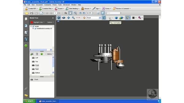 Using the Acrobat 3D Toolbar: Acrobat 3D Version 8 Essential Training