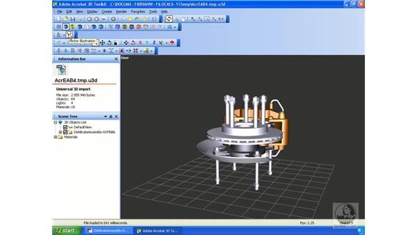 Using the Acrobat 3D Toolkit: Acrobat 3D Version 8 Essential Training