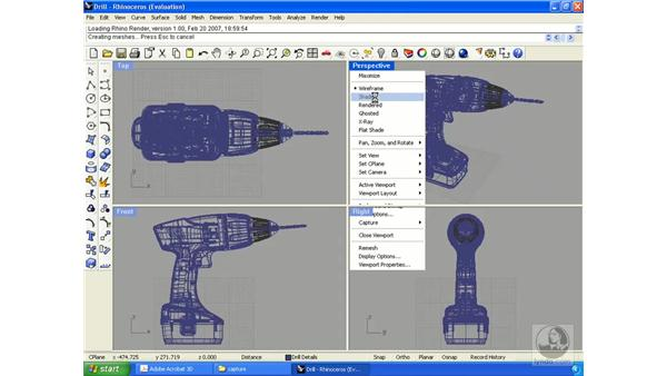 Capturing 3D content from your CAD application: Acrobat 3D Version 8 Essential Training