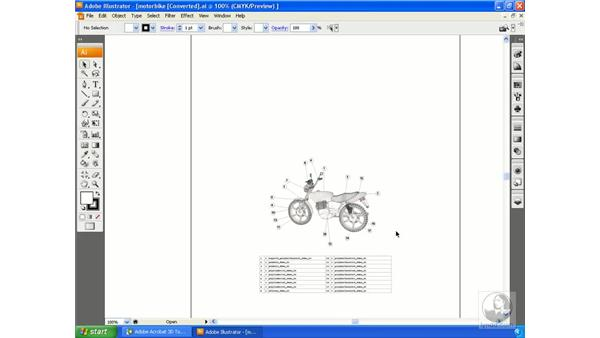 Exporting 2D graphics: Acrobat 3D Version 8 Essential Training