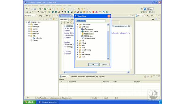 RDS with Eclipse: ColdFusion 8 New Features