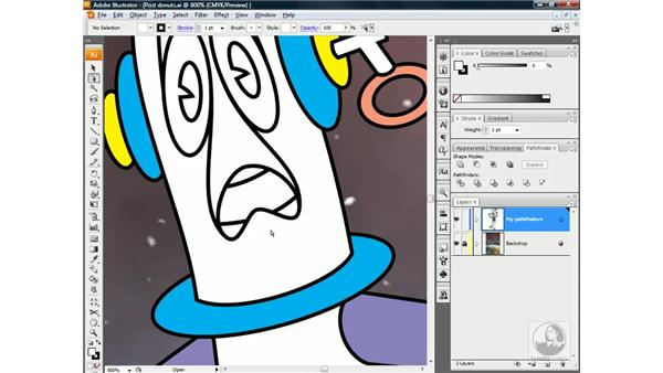 When in doubt, divide: Illustrator CS3 One-on-One: Beyond the Basics