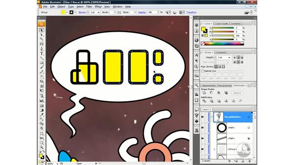 Strokes bad. Fills good: Illustrator CS3 One-on-One: Beyond the Basics
