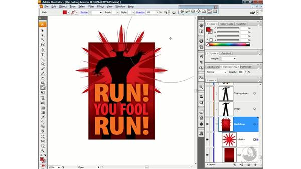 Creating a crystallized starburst: Illustrator CS3 One-on-One: Beyond the Basics