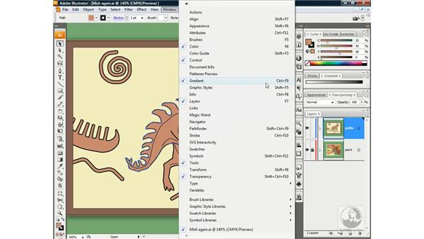 Applying a gradient: Illustrator CS3 One-on-One: Beyond the Basics