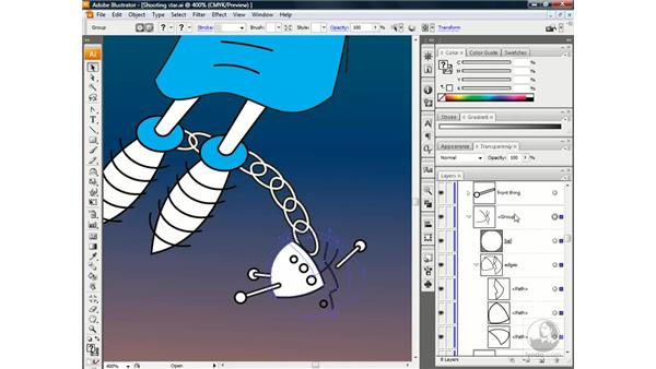 Filling and stroking a mask: Illustrator CS3 One-on-One: Beyond the Basics