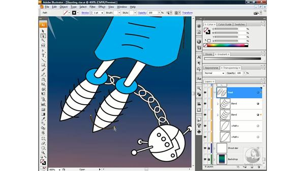 Creating a compound clipping mask: Illustrator CS3 One-on-One: Beyond the Basics