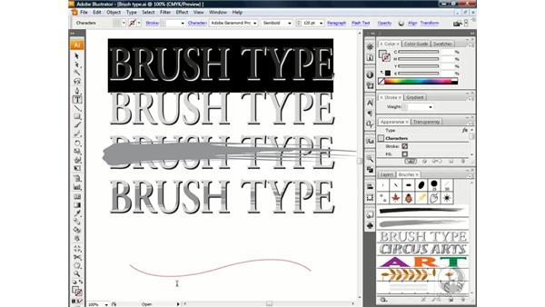 Creating type on a path: Illustrator CS3 One-on-One: Beyond the Basics