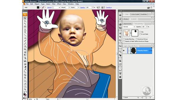 Opacity mask tips and tricks: Illustrator CS3 One-on-One: Beyond the Basics
