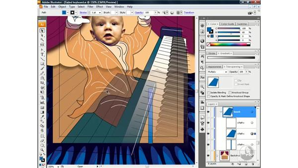The Multiply blend mode: Illustrator CS3 One-on-One: Beyond the Basics