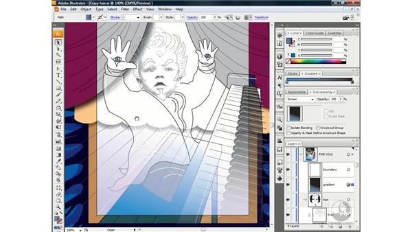 Screen and super-rich black: Illustrator CS3 One-on-One: Beyond the Basics