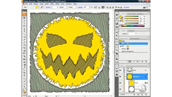 Riffing on a graphic style: Illustrator CS3 One-on-One: Beyond the Basics