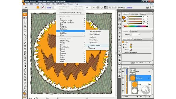 Effects vs. filters: Illustrator CS3 One-on-One: Beyond the Basics