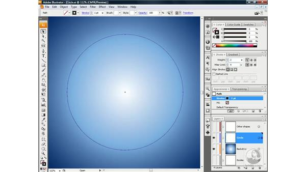 Using the live Transform effect: Illustrator CS3 One-on-One: Beyond the Basics