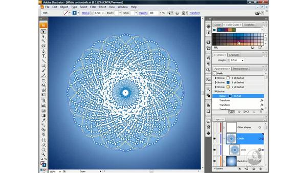 Working with closely knit lines: Illustrator CS3 One-on-One: Beyond the Basics