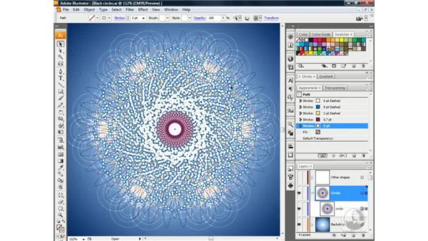Applying a Feather effect: Illustrator CS3 One-on-One: Beyond the Basics