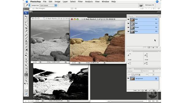 Bit depth and color: Photoshop CS3 Color Correction