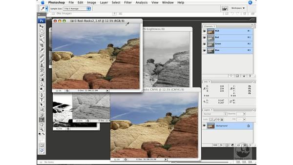 RGB vs. CMYK corrections: Photoshop CS3 Color Correction