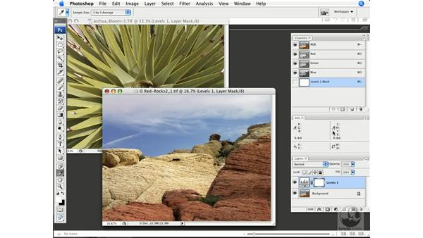 Understanding the histogram display of color: Photoshop CS3 Color Correction