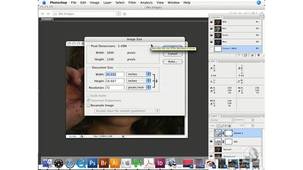 Physical and visual evaluation: Photoshop CS3 Color Correction