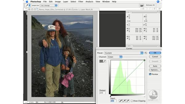 Finding and using neutrals: Photoshop CS3 Color Correction