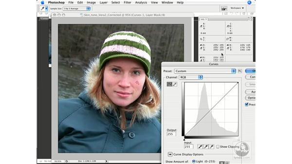 Evaluating and correcting skin tones: Photoshop CS3 Color Correction