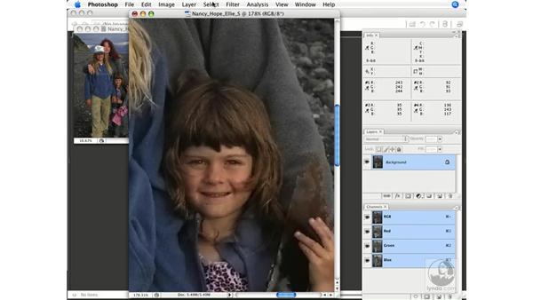 RGB sharpening: Photoshop CS3 Color Correction